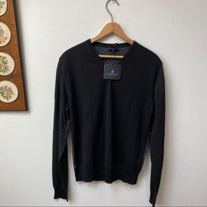 NWT Lanvin Paris Wool V-Neck Sweater